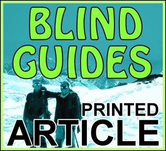 Blind Guides (printed article – 10 copies)