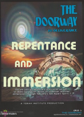 The Doorway Repentance and Immersion DVD