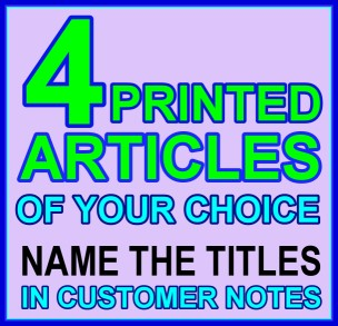 Printed Articles Choose 4