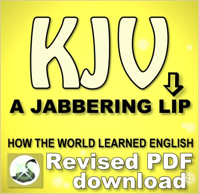 KJV: A Jabbering Lip PDF download--Revised