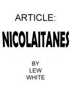 NICOLAITANES 10 copies