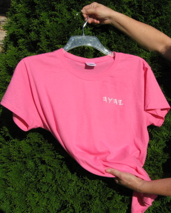 Lady's T-Shirt short sleeve w/Name