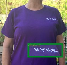 Ladies Purple Tee