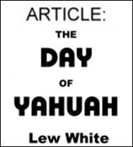 Day of Yahuah 10 copies