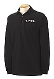 Black Polo Embroidered Long Sleeve