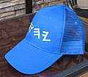 Summer Mesh Ball Cap Blue with Paleo Hebrew Name