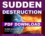 SUDDEN DESTRUCTION 4-Page Tract Download