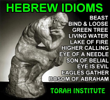 Hebrew Idioms Free PDF Download