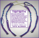 TSITSITH PURPLE THREAD set of 4