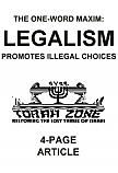 FREE Download of Legalism Article