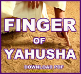 Finger Of Yahusha Tract (PDF)
