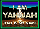 I AM YAHUAH Printed Book